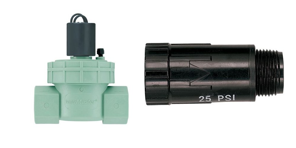 Orbit 1 inch Female Automatic Sprinkler Valve and Drip Pressure Reducer