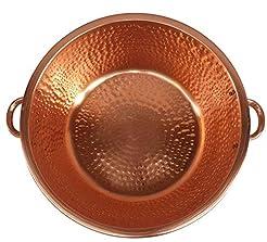 Gold Copper Foot Rub Spa Beauty Salon Ma...