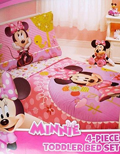Minnie Mouse 4 Piece Toddler Bedding Set