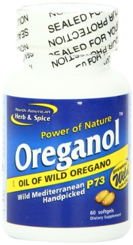 North American Herb and Spice, Oreganol P73 Gel-Capsules (180 Count)