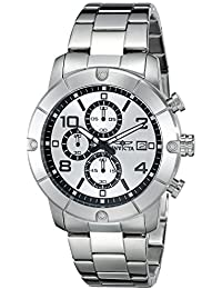 Men's 17764 Specialty Analog Display Japanese Quartz Silver Watch