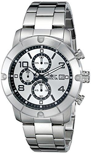 인빅타 Invicta Mens 17764 Specialty Analog Display Japanese Quartz Silver Watch
