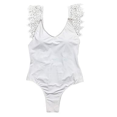 251746b73e3 Mujer Ansenesna Traje De BañO Una Pieza Mujer Monokini Espalda Abierta  Floral ImpresióN Playa BañAdores NiñA 2018 Push Up ...