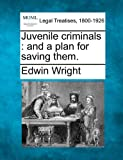 Juvenile criminals : and a plan for saving Them, Edwin Wright, 1240155816