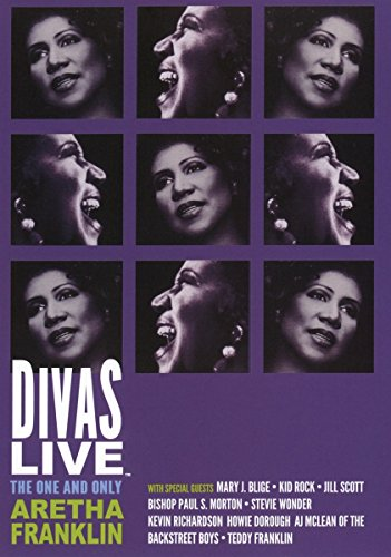 Divas Live: The One and Only Aretha Franklin by MVD Visual