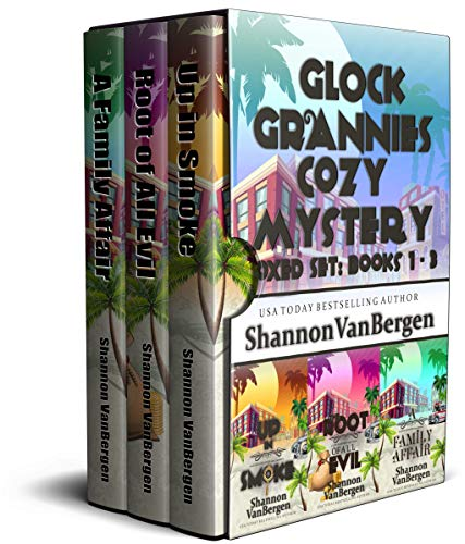 Glock Grannies Cozy Mystery Boxed Set: Books 1 - 3 by [VanBergen, Shannon]