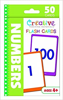 Book Numbers Flash Cards