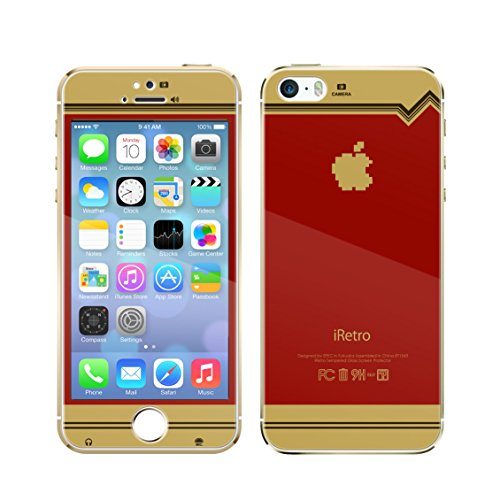 スペックコンピュータ attach iRetro-FC tempered glass colors limited Edition for iPhone5s iPhone5 アイレトロ テンパードガラス リミテッドエディション iPhone液晶ガラス SP1543