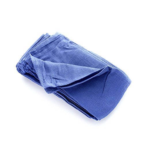 MediChoice O.R. Towel, X-Ray Detectable, 16 Inch x 24 Inch, Blue (Case of 72)