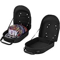 NEPPT Hat Case Travel Baseball Hat Organizer Bag Box Storage for Baseball Caps Carrier Ball Caps Holder for Men, Women…