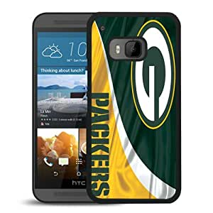 AZE Beautiful Fashion Green Bay Packers 5 Black Case Cover For HTC ONE M9