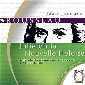 Julie ou la Nouvelle Héloïse Hörspiel