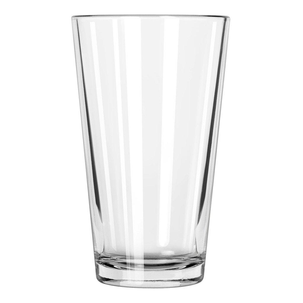Libbey Pint Glass with DuraTuff Rim (1639HT), 16oz - Set of 12