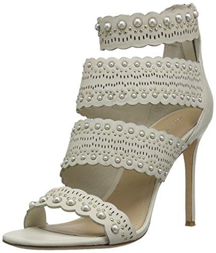 Pour La Victoire Women's Ellura Heeled Sandal, Bone, 9.5 M US by Pour La Victoire