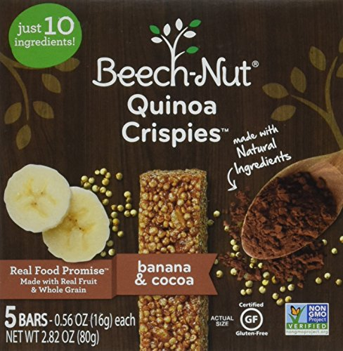 Beech-Nut Quinoa Crispies Banana & Cocoa Toddler Snack, 0.56 Ounce (Pack of 6) by Beech-Nut (Image #6)