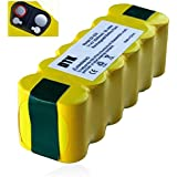 Dtk 12 cells high capacity 3.5Ah Ni-MH Battery for iRobot Roomba R3 500,600,700,800 900 Series 500 510 529 530 570 580 600 630 660 700 780 790 800 860 870 880 980 Vacuum Cleaning Robots (3500MAH)