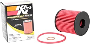 K&N Premium Oil Filter: Designed to Protect your Engine: Fits Select MINI/FORD/PEUGEOT/LAND ROVER Vehicle Models (See Product Description for Full List of Compatible Vehicles), HP-7024