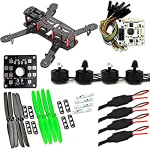 LHI 250 mm Quadcopter Race Copter Frame Kit ARF+ CC3D Flight Controller + MT2204 2300KV Motor + Simonk 12A ESC + 5030 propeller
