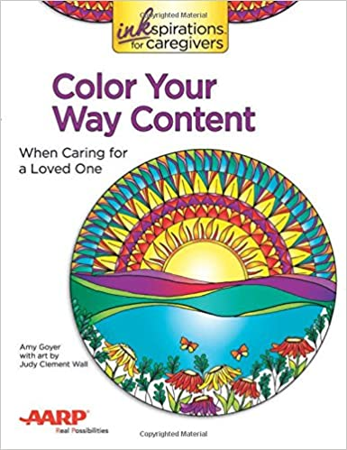 amazon com inkspirations color your way content when caring for a