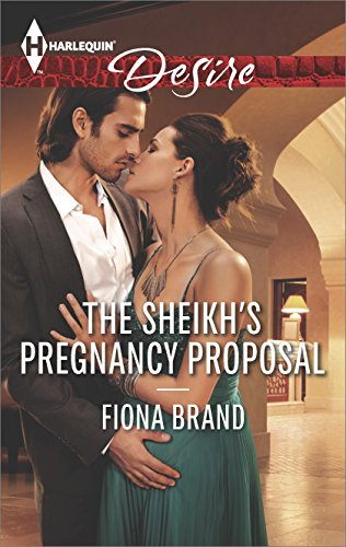 book cover of The Sheikh\'s Pregnancy Proposal