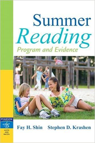 Amazon com: Summer Reading: Program and Evidence