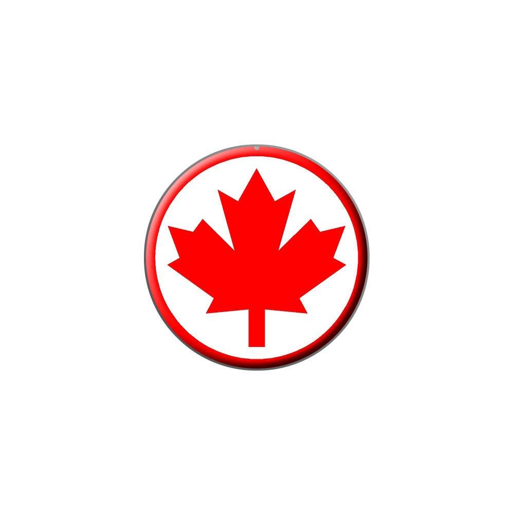 Amazon Canada Maple Leaf Flag Metal Lapel Hat Pin Tie Tack