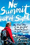 download ebook no summit out of sight: the true story of the youngest person to climb the seven summits by romero, jordan (may 6, 2014) hardcover pdf epub