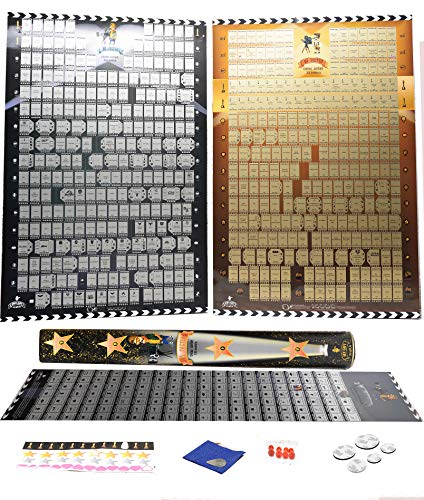 - 600 Movie scratch off Poster plus 100 movie poster BucketList of 2019  3 in 1 Pack 20 and 21 Century movie poster scratch off Cult Films Essential By Mymap