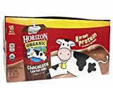1 CASE Horizon 8oz Chocolate Milk, Organic, 18 per case ( Multi-Pack)