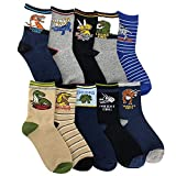 Gifts for 8-12 Year Old Boys, Boys Sports Socks for 8-12 Years Dinosaur Pajamas Mix Match Socks...