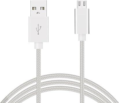 Cable micro usb 3m de Nylon trenzado alta calidad cable cargador micro usb 3 metros cable