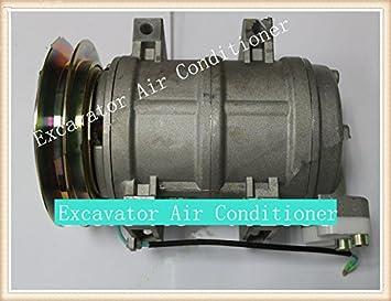 Aire acondicionado GOWE excavadora para Hitachi excavadora aire acondicionado Compresor Assy zx330 LC-3: Amazon.es: Bricolaje y herramientas