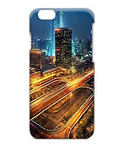 VUTTOO Iphone 6 Case, Beijing At Night China PC Plastic Hard Case for Apple iPhone 6 4.7 Inch