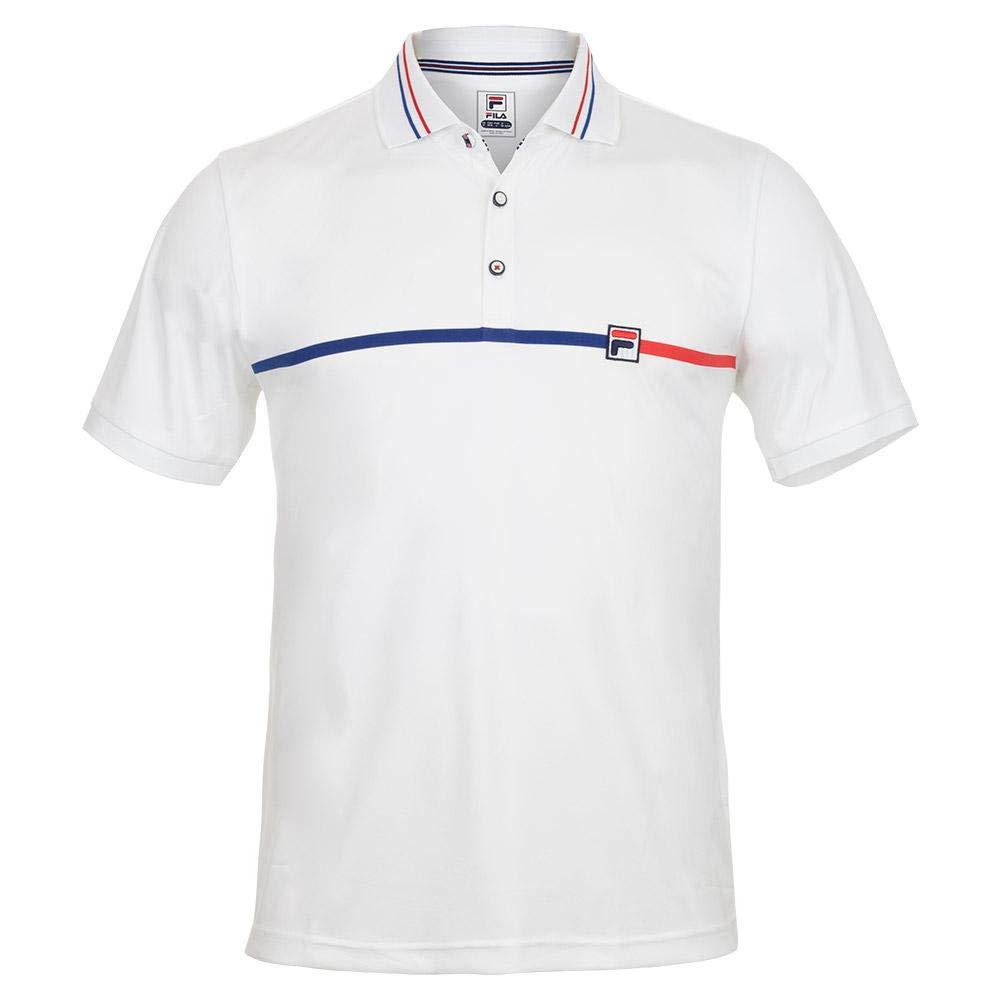 Amazon.com: Fila-Men`s Heritage Tennis Polo-(): Clothing