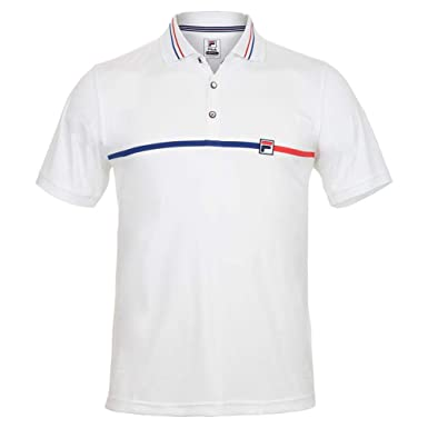 Amazon.com: Fila-Men`s Heritage Tennis Polo-(): Clothing