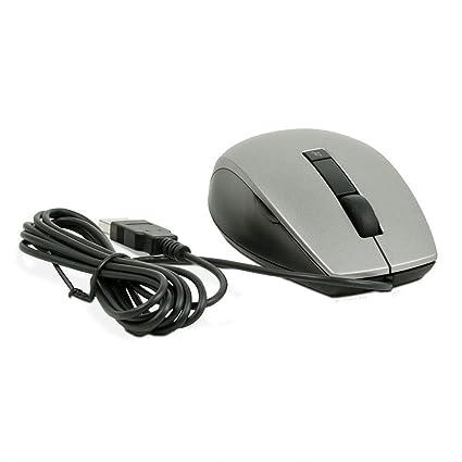 68cc691b583 Amazon.com: New Genuine Dell USB Wired 6 Button Scroll Wheel Silver Black  Mice 4K93W, M534D, 3X72X, Y357C, Y365C, K251D: Computers & Accessories
