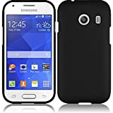Samsung Galaxy Ace Style S765C Stardust s766c Case - Wydan (TM) Rubberized 2-Piece Snap On Hard Case Cover For Samsung Galaxy Ace Style S765C Stardust s766c - Black
