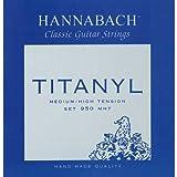 Hannabach 9508 MHT TITANYL Medium/High Tension, 3-Treble Set