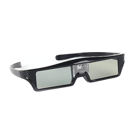 Lorenlli Obturador Activo Gafas 3D Proyector DLPLink Proyector 3D ...