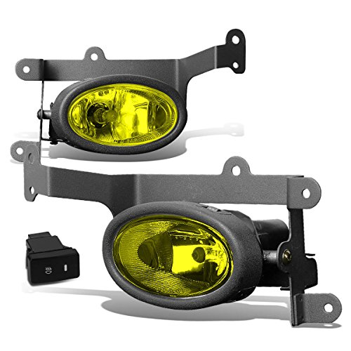 - For Honda Civic FG Coupe Pair of Bumper Driving Fog Lights w/Switch (Amber Lens)