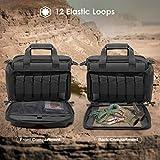 ProCase Tactical Gun Range Bag, Deluxe Pistol