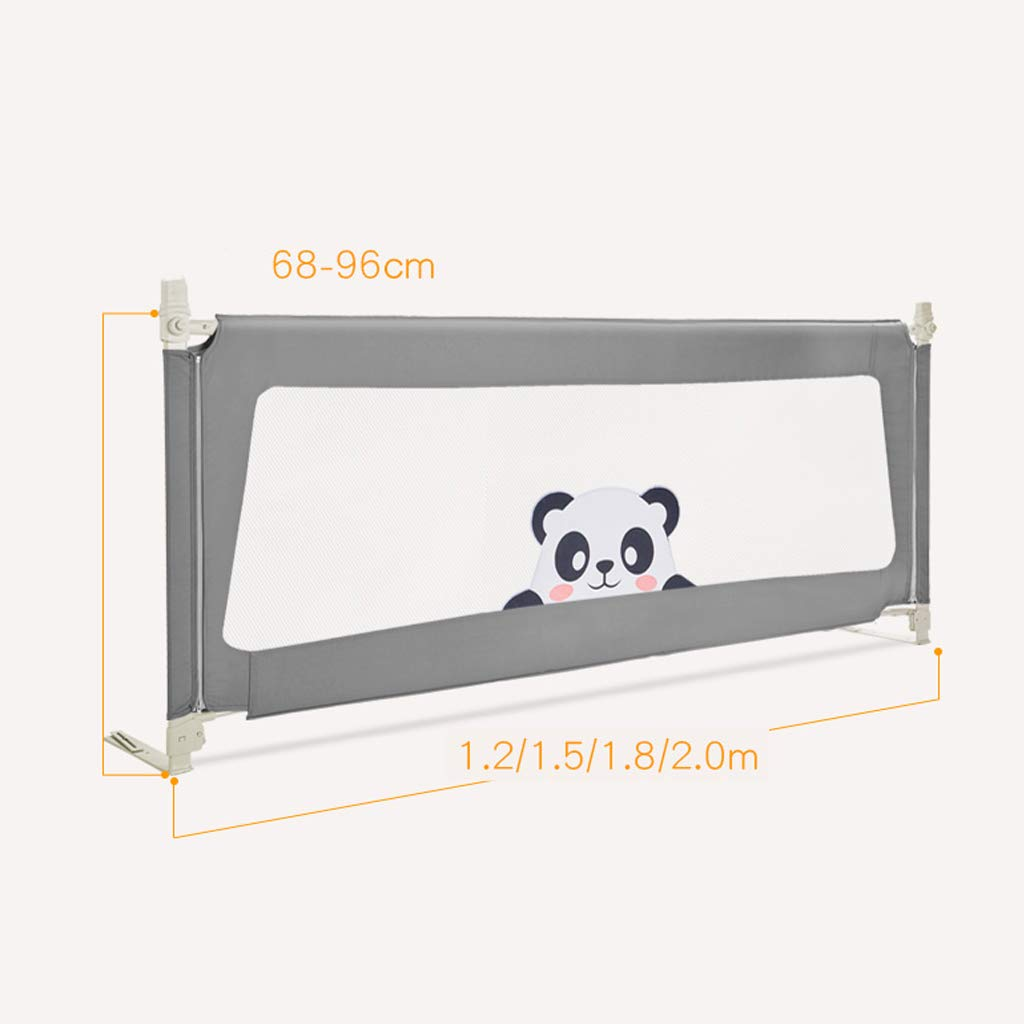 SONGTING Guardrail Kids Safety Bed Rail Baby Bed Rail Foldable Easy Fit Safety Portable Foldable Bed Rail Bed Guard Protection Safety Infant Child by SONGTING Guardrail (Image #2)