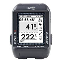 POSMA D2 GPS Wireless Cycling Bike Computer Speedometer Odometer with Navigation, ANT+ connection, support GPX file upload to STRAVA and MapMyRide (BHR20 Heart Rate Monitor and BCB20 Speed/Cadence Sensor Bundle Option Available)