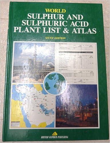 World sulphur and sulphuric acid plant list & atlas: British Sulphur