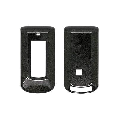 SEGADEN Paint Metallic Color Shell Cover Hard Case Holder fit for MITSUBISHI Smart Remote Key Fob 2 3 Button SV0520 Black: Automotive