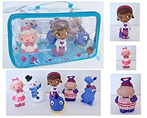 Amazon Com Disney Junior Doc Mcstuffins 6 Piece Bath Set