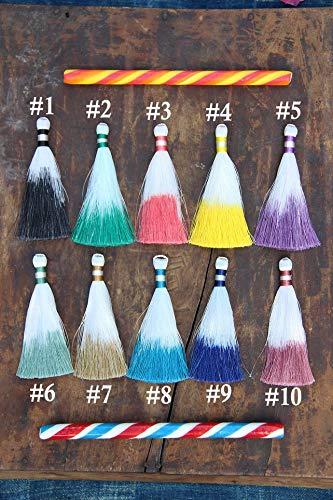 Silky Luxe Tassels: 3.5