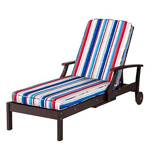 "Premium Outdoor Patio Chaise Lounge Cushion 72""L x 21""W x..."