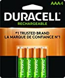 Duracell Rechargeable AAA Batteries, 4 Count - Best Reviews Guide