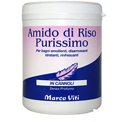 Marco Viti Amido di riso purissimo 250g: Amazon.it: Salute e cura ...